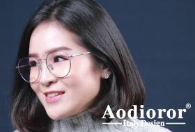 โปรโมชั่นกรอบแว่น Aodioror เบต้า ไทเทเนียม พร้อมเลนส์แว่นตาโปรเกรสซีฟ ISOPTIK New Multi Pro 1.6