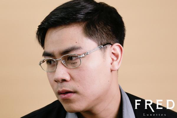 โปรโมชั่นกรอบแว่น FRED พร้อมเลนส์แว่นตาโปรเกรสซีฟ ISOPTIK New Multi Pro 1.6